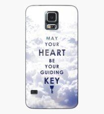 Funda/vinilo para Samsung Galaxy Que tu corazón sea tu llave guía - Versión de fondo