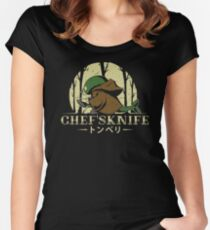 Chef's Knife Women's Fitted Scoop T-Shirt