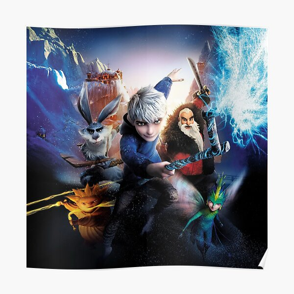 Rise of the Guardians Póster