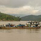 Chindwin Transport by Werner Padarin