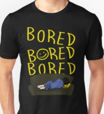 Bored - Sherlock Unisex T-Shirt