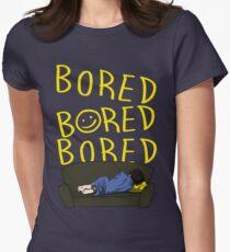 Bored - Sherlock Womens Fitted T-Shirt