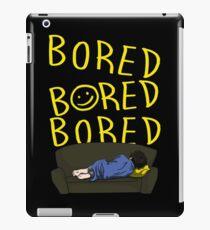 Bored - Sherlock iPad Case/Skin