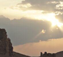 Near Palmyra, Syria Sticker