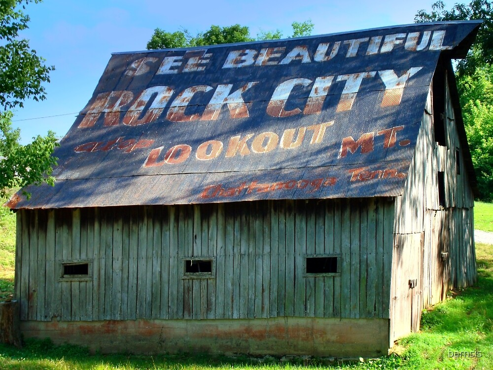 See Rock City by barnsis