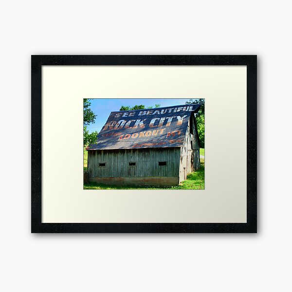 See Rock City Framed Art Print