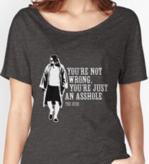 The Big Lebowski - quote Women's Relaxed Fit T-Shirt