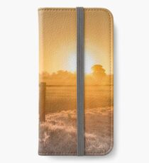 first frost of winter iPhone Wallet/Case/Skin