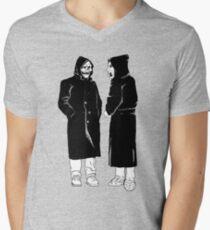 brand new - the devil and god  Men's V-Neck T-Shirt