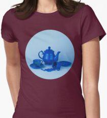 Blue tea party madness still life T-Shirt