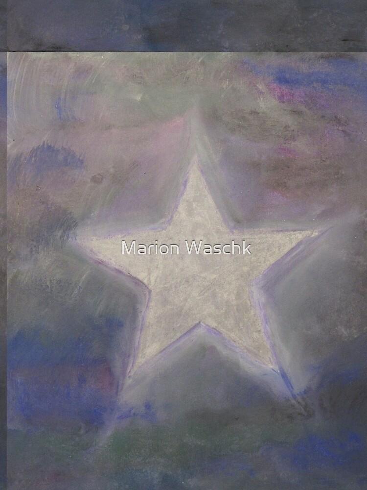 Stern silber - Star silver used look von mwart
