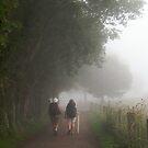 Pilgrims in the mist by Richard McCaig