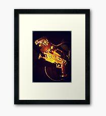 Steampunk Gun and Holster 1.1 Framed Print