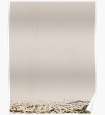 San Francisco Skyline (no text) Poster
