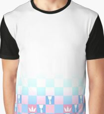 Kingdom Hearts Checkerboard Graphic T-Shirt