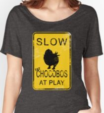 Slow Chocobos Women's Relaxed Fit T-Shirt