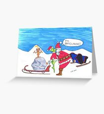 I'm Batclause Greeting Card