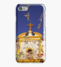 Church flags in Mexico iPhone Case/Skin