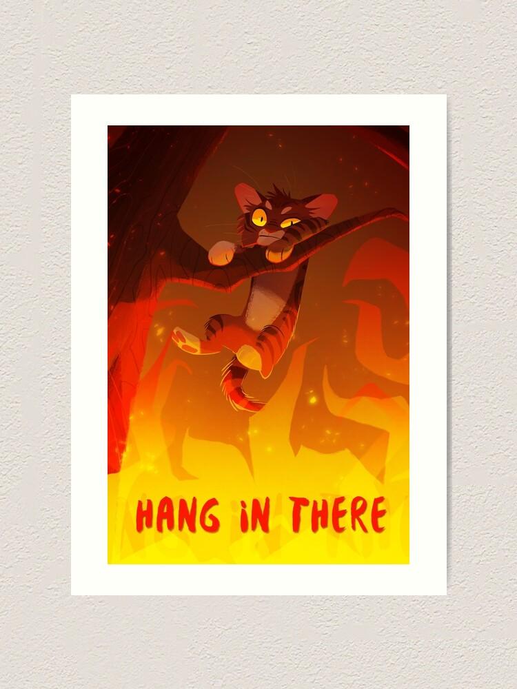 Alternate view of Bramblekit | Hang In There! Art Print
