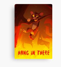 Bramblekit | Hang In There! Canvas Print