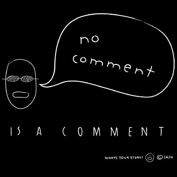No Comment by carltoons