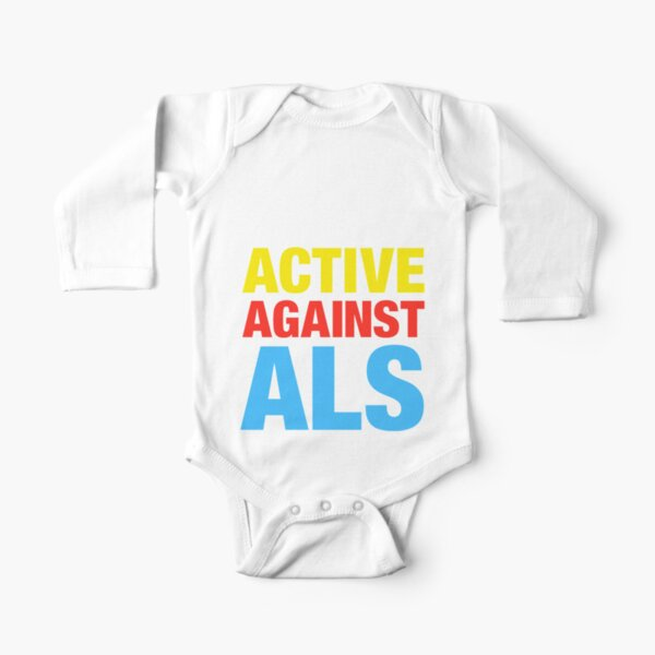 Active Against ALS Long Sleeve Baby One-Piece