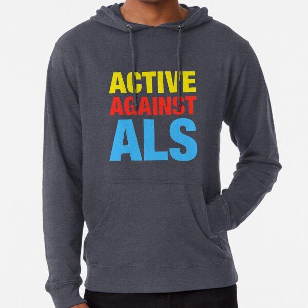 Active Against ALS Lightweight Hoodie