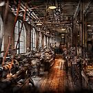 Machinist - A fully functioning machine shop  by Michael Savad