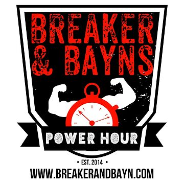 Breaker And Bayn's Power Hour 2017 Logo by BBPH