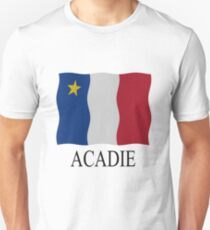 Acadian flag Unisex T-Shirt