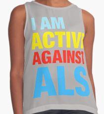 I Am Active Against ALS Contrast Tank