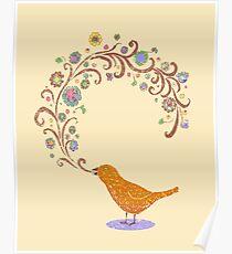 Birdsong Poster