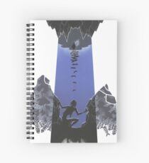 Hobbit illustration 3 Spiral Notebook