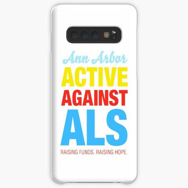 Ann Arbor Active Against ALS Samsung Galaxy Snap Case
