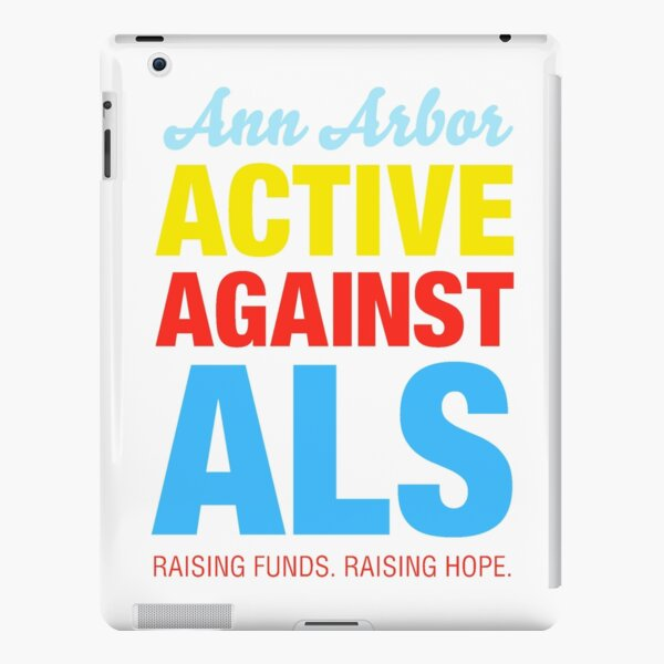 Ann Arbor Active Against ALS iPad Snap Case