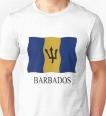 Barbados flag Unisex T-Shirt