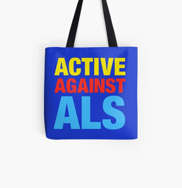 Active Against ALS All Over Print Tote Bag