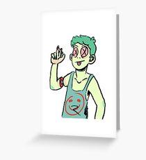 Casper (1) Greeting Card