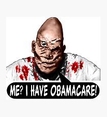OBAMACARE MAN Photographic Print