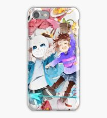 undertale characters  iPhone Case/Skin