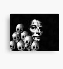 8 Heads in a Duffel Bag....a DARK Comedy Canvas Print