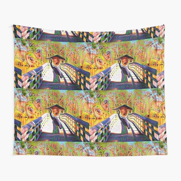 Psychadelic Crane Tapestry