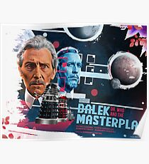 Dr. Who - The Dalek Masterplan - Movie Poster Artwork Poster