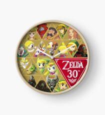 Zelda Series 30th Anniversary Clock