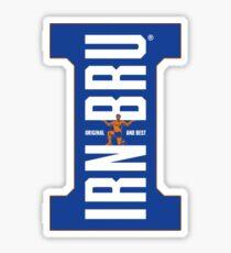 IRN BRU logo Sticker