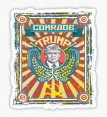 Comrade Trump Russian Hack Propaganda Putin Protest Resist Sticker