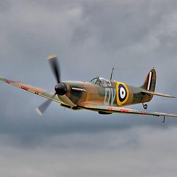Guy Martin`s Spitfire 1 by Arrowman