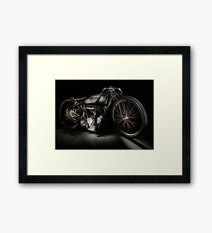 Excelsior Board Track Racer Framed Print