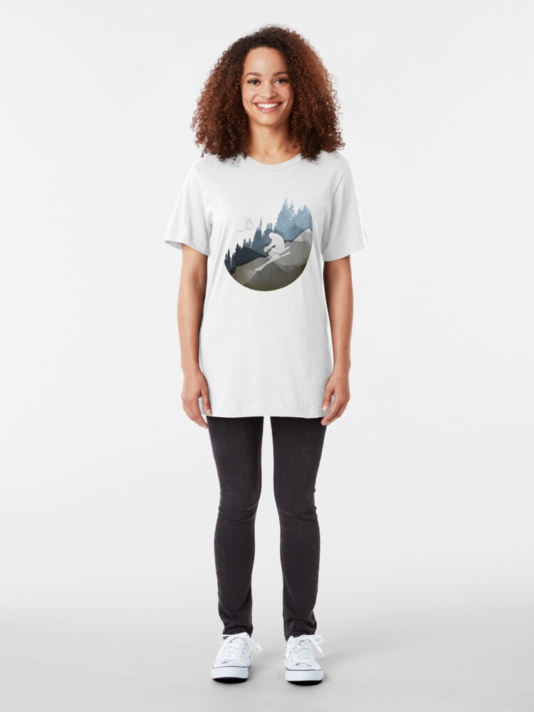Alternate view of The Skiers Slim Fit T-Shirt