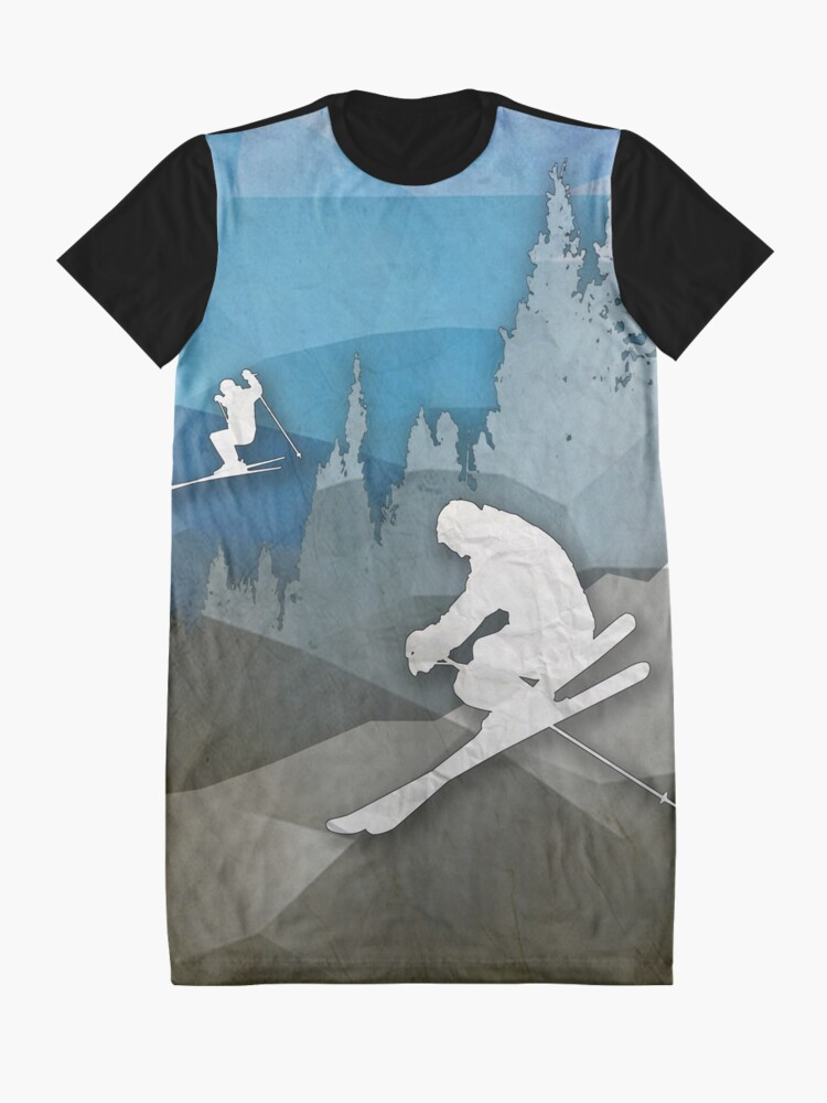 Alternate view of The Skiers Graphic T-Shirt Dress